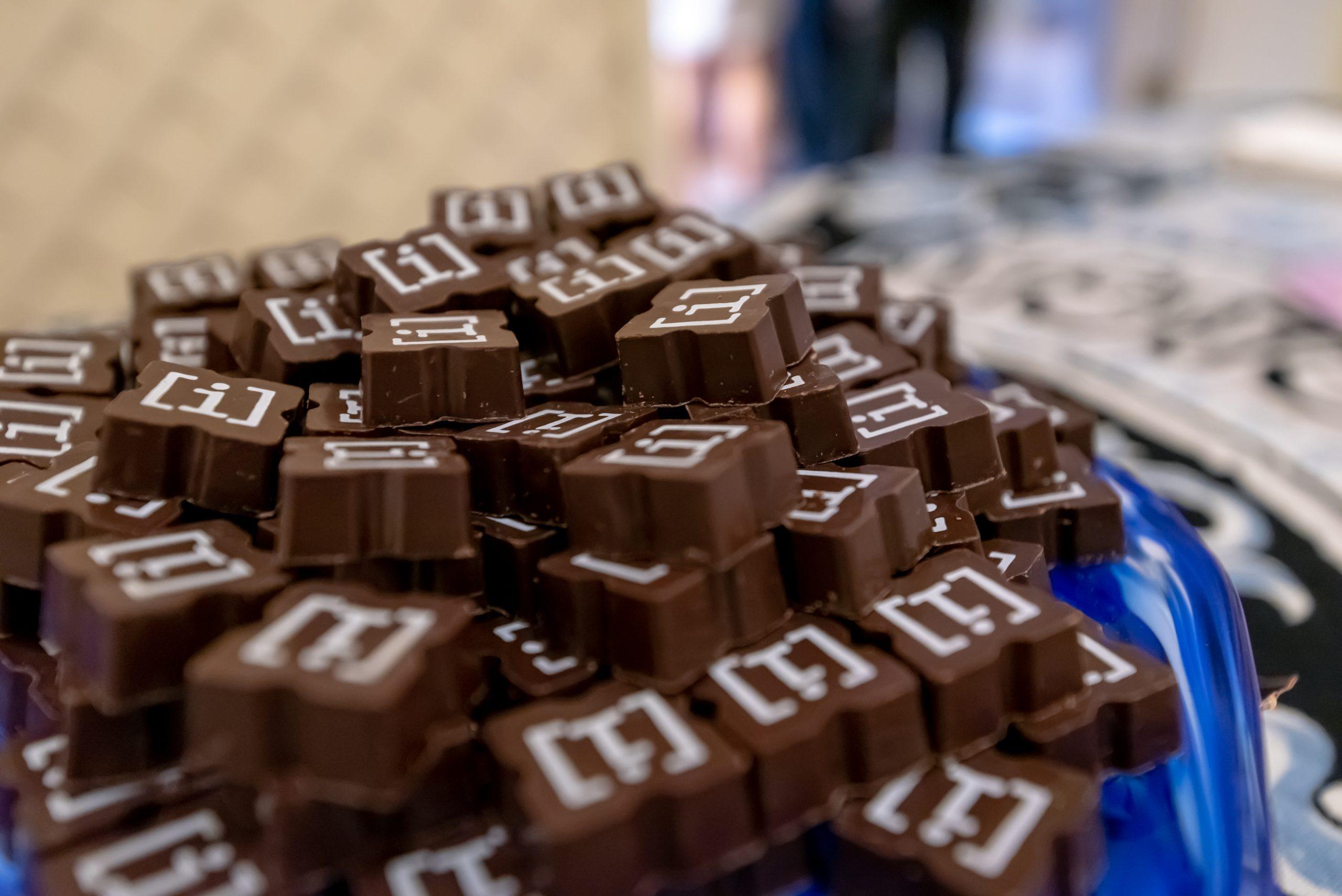 AIFF Close Up Custom Chocolates