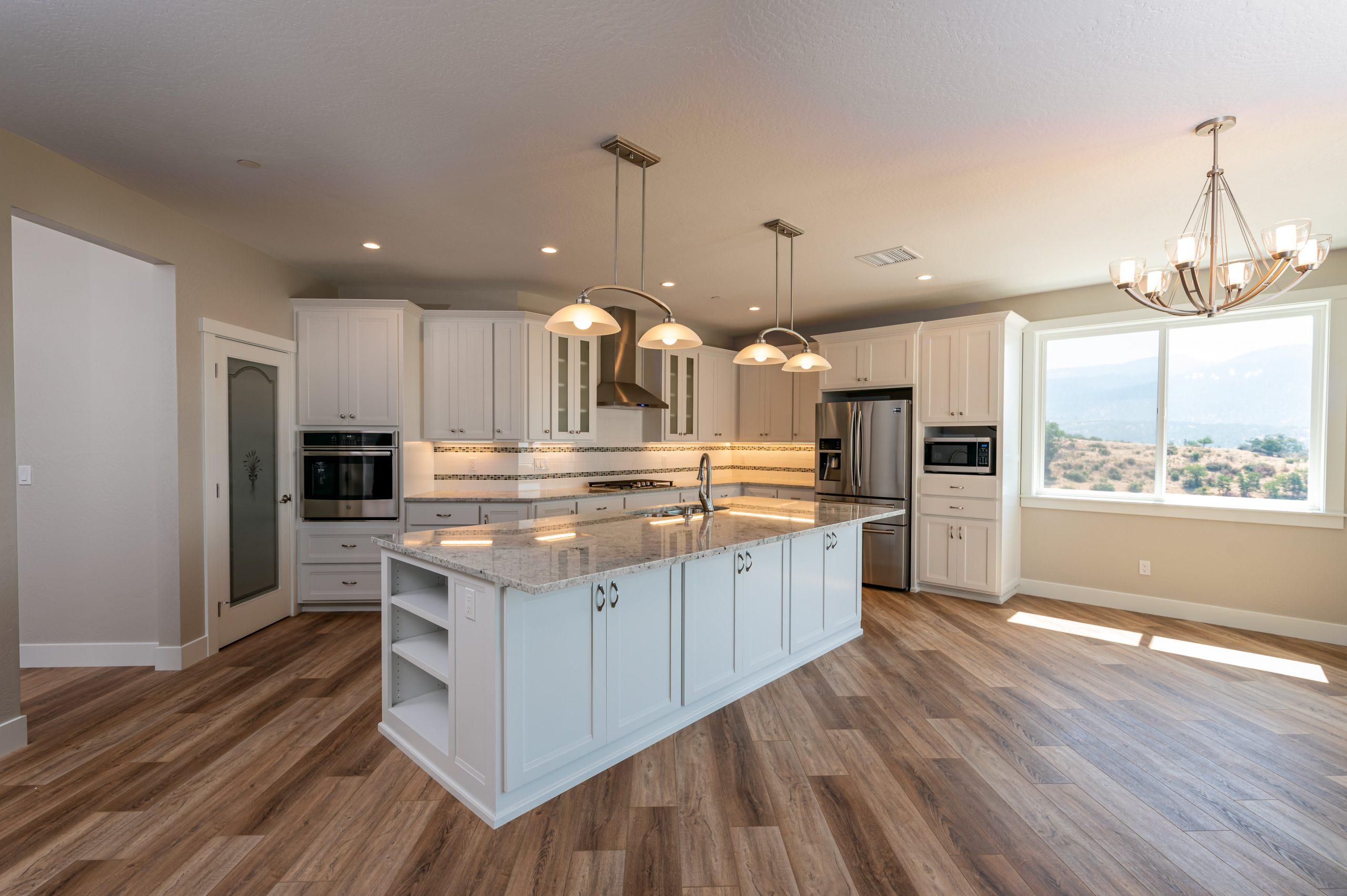 Kitchen Interior Construction Project